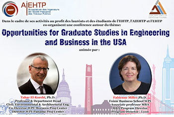 OPPORTUNITIES FOR GRADUATE STUDIES IN ENGINEERING AND BUSINESS IN THE USA